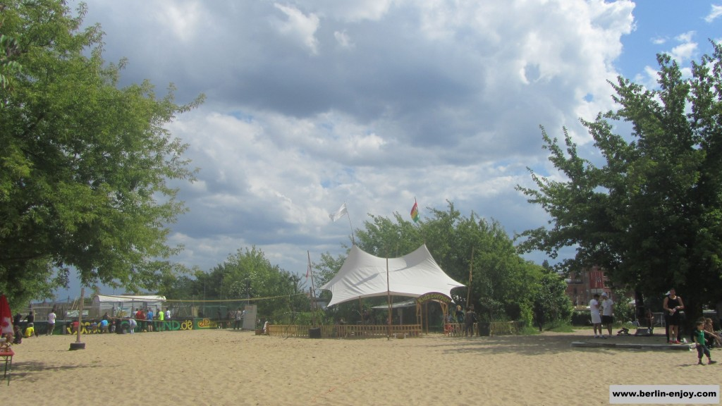 Beach at Yaam Berlin