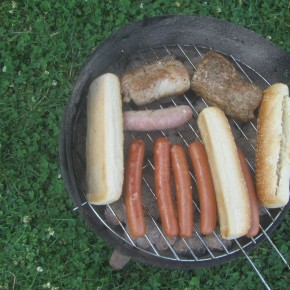 Barbeque in Berlin: Volkspark Friedrichshain