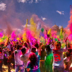 Festival of Colors in Berlin: Holi Open Air