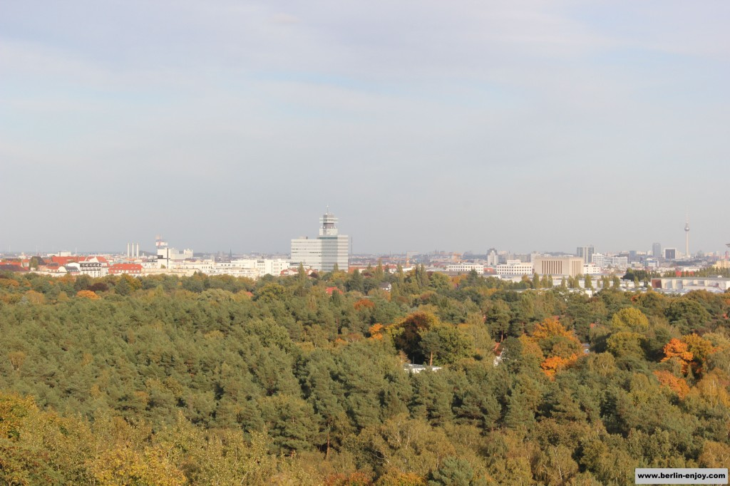 The view from the Teufelsberg