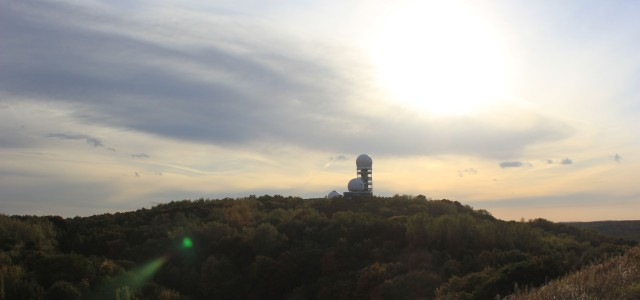A great view over Berlin: The Teufelsberg