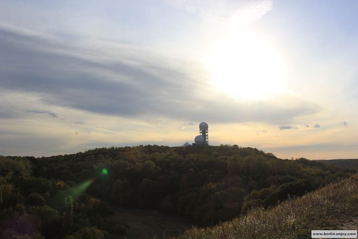 Another nice picture taken from the Teufelsberg
