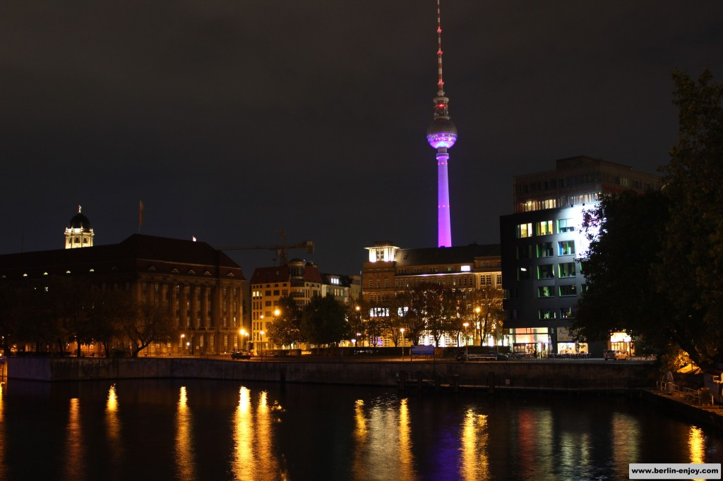 Berlin Festival of Lights Bridge