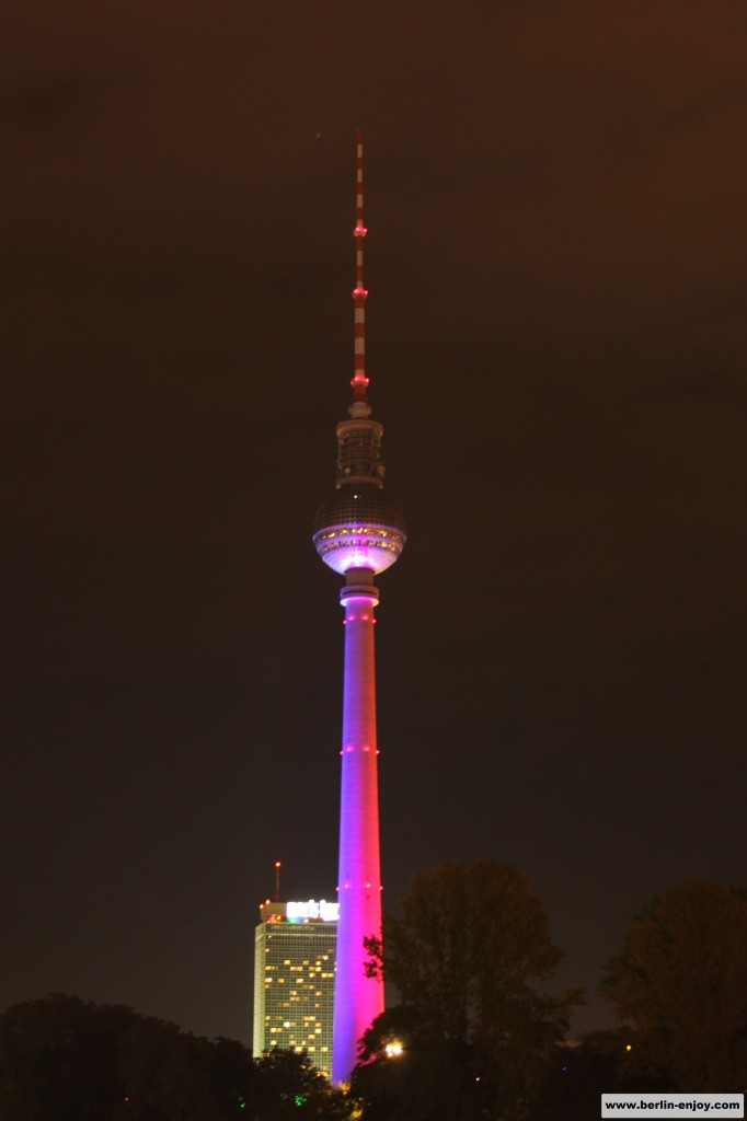 Fernsehturm Festival of Lights