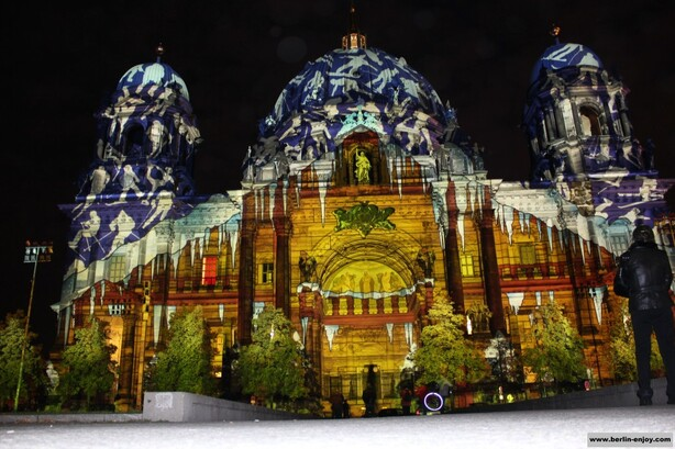 Berliner Dom Festival of Light