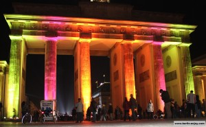 Brandenburger Tor Berlin Festival of Lights