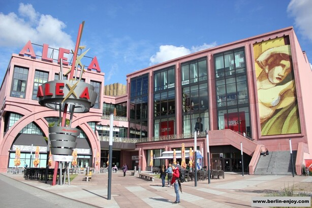 Alexa Shopping Center near Alexanderplatz