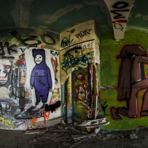 Teufelsberg Berlin Graffiti