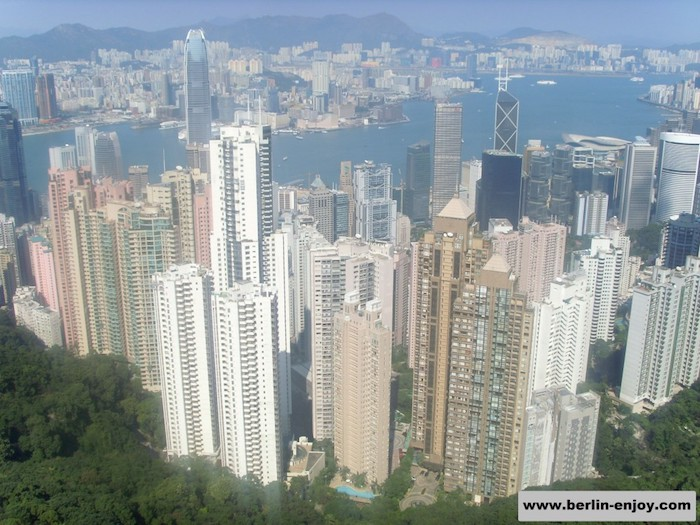 Hong Kong Skyline from Sky Terrace