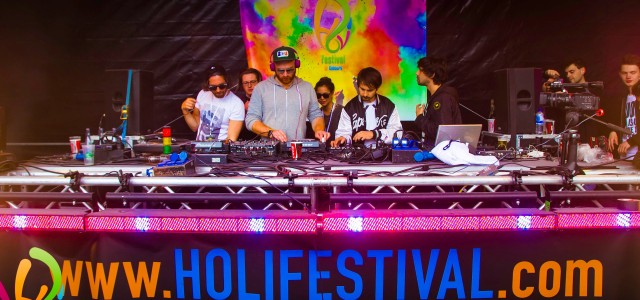 The Holi Festival Berlin in 2015