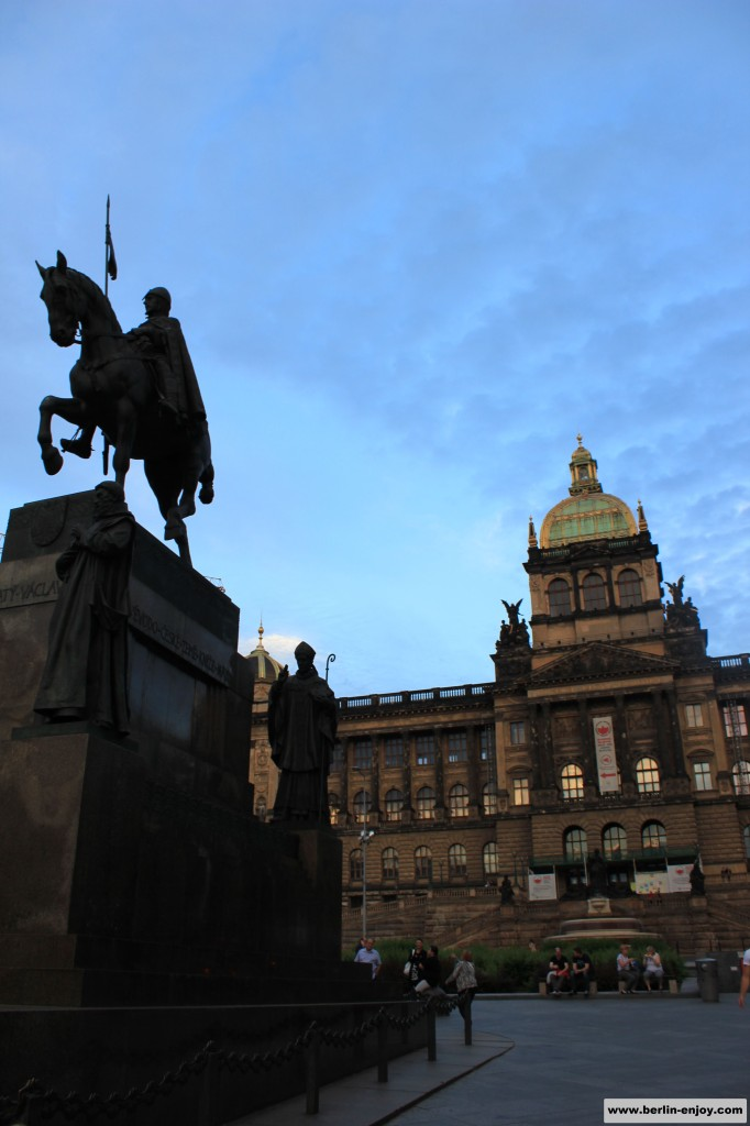 Wenceslas Square Prague