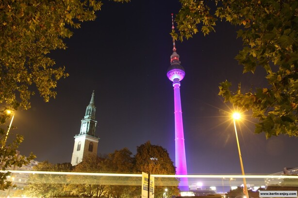 Fernsehturm Berlin Festival of Lights