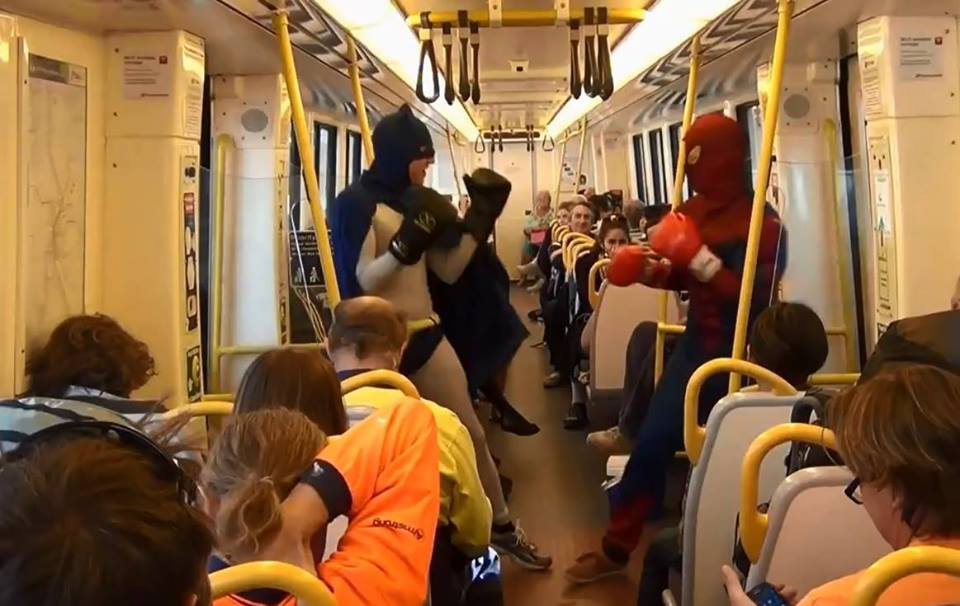 Batman Ubahn Berlin