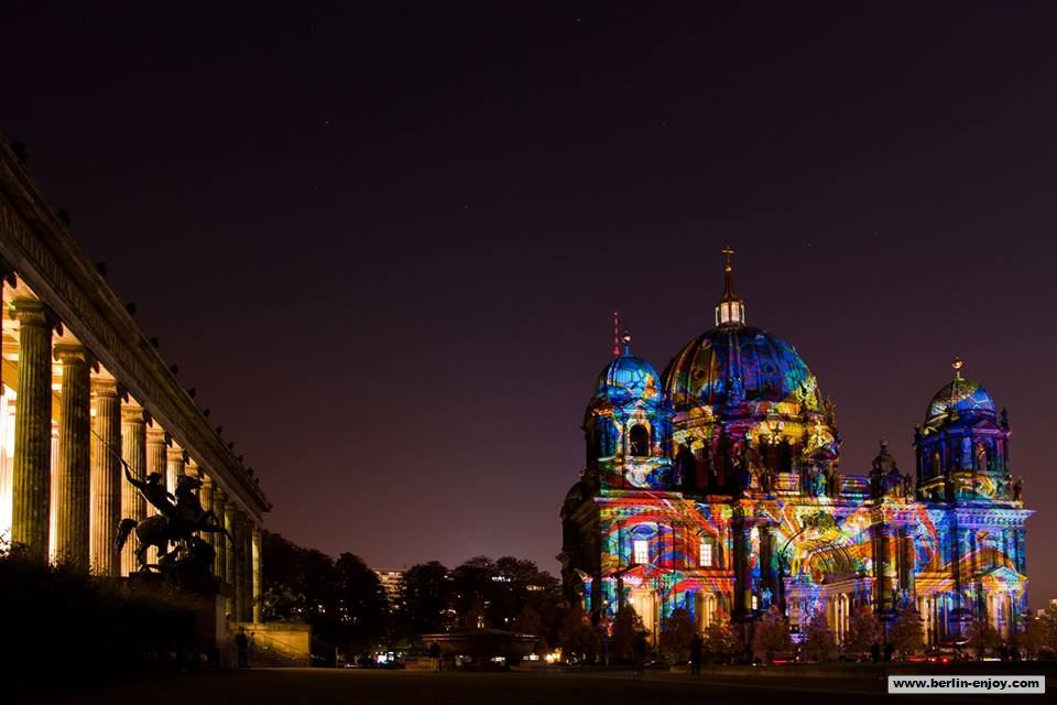 Berliner Dom Festival of lights 2