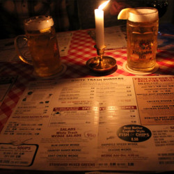 White Trash: Food and drinks in Berlin-Style