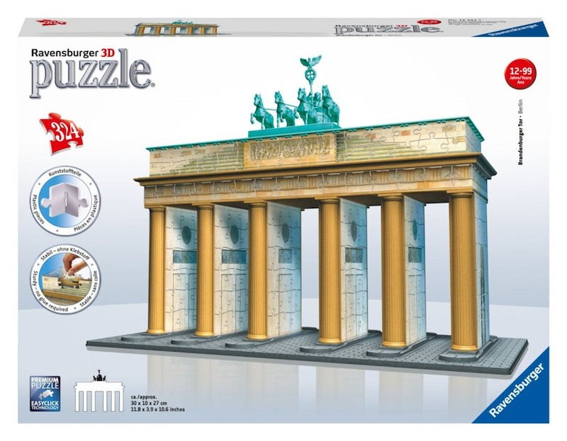 Berlin 3d Puzzle Brandenburger Tor
