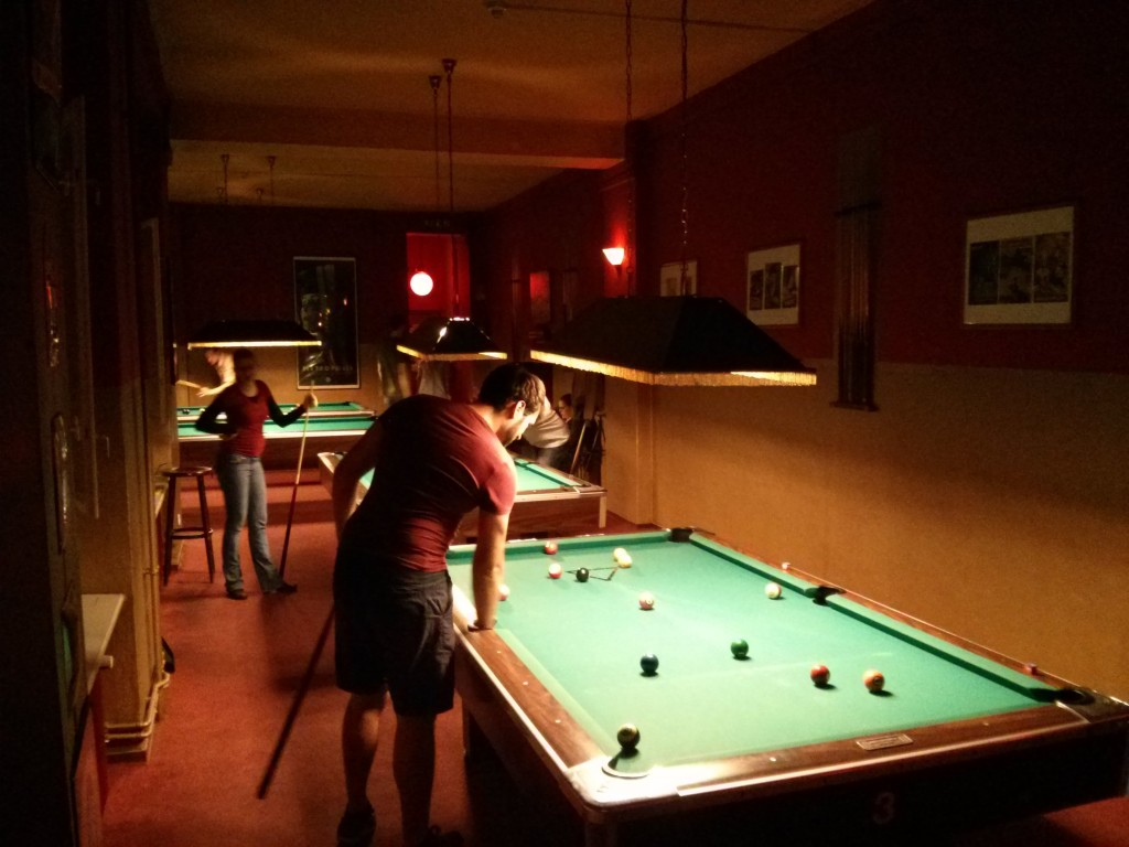 Billard Bar in Berlin