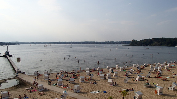Enjoy the summer at the Wannsee (© Berlin-enjoy.com)