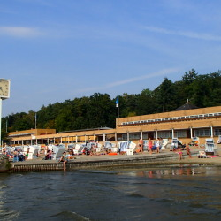 Visit the beach in Berlin: Strandbad Wannsee