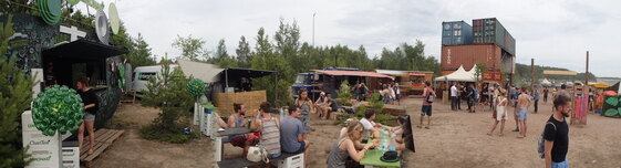 Feel Festival Food Area