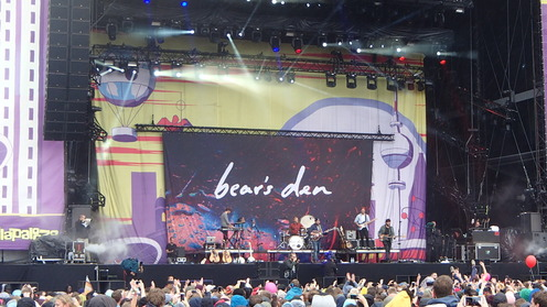 Two great bands: Bear's Den and....