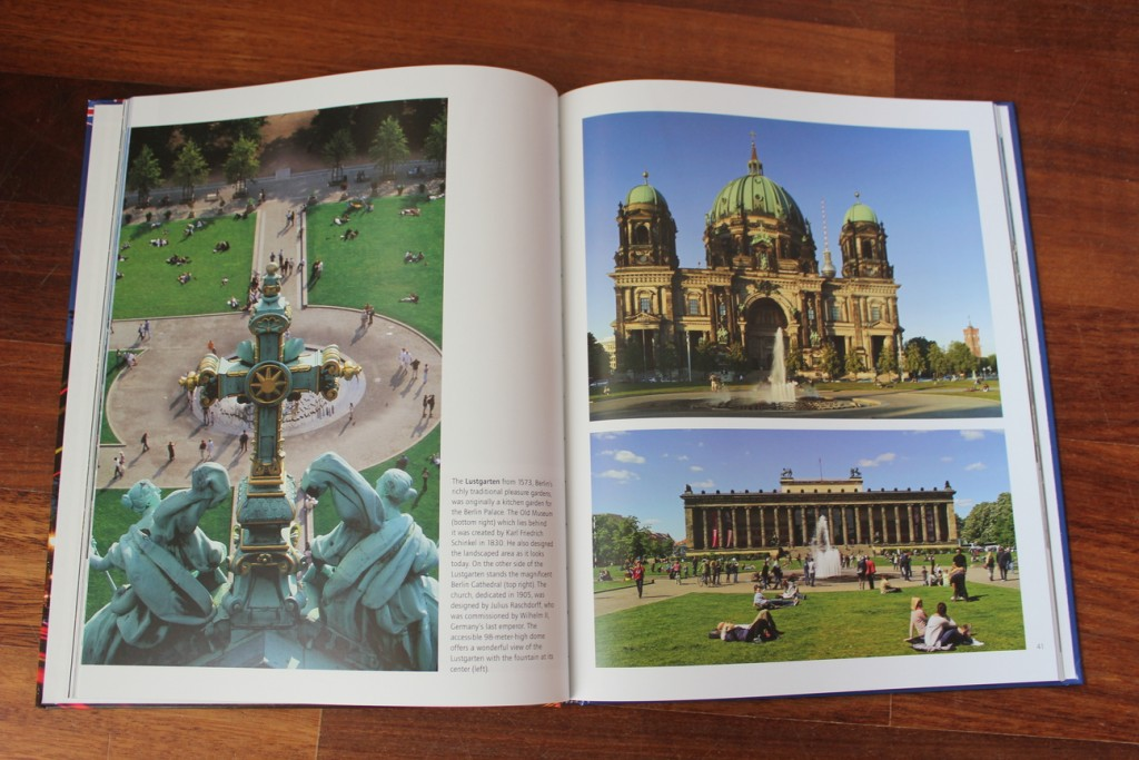 Book about Berlin: A Photo Gallery of the Sights (inside)