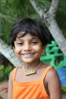 Girl in Sri Lanka