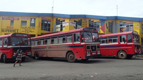 Busses in Sri Lanka