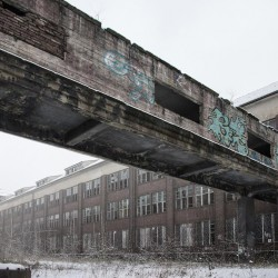 Abandoned buildings: The Russian panzerkaserne in Bernau