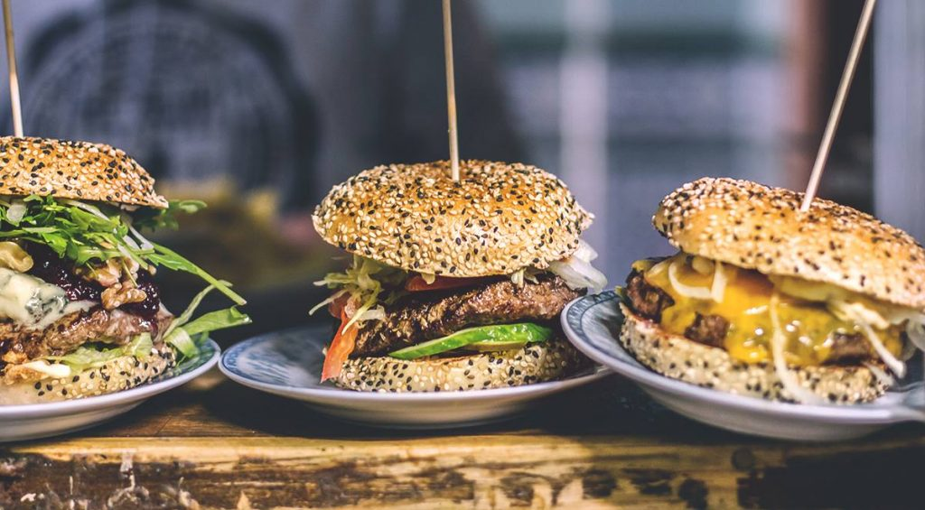 Some of the nice burgers of Burgeramt