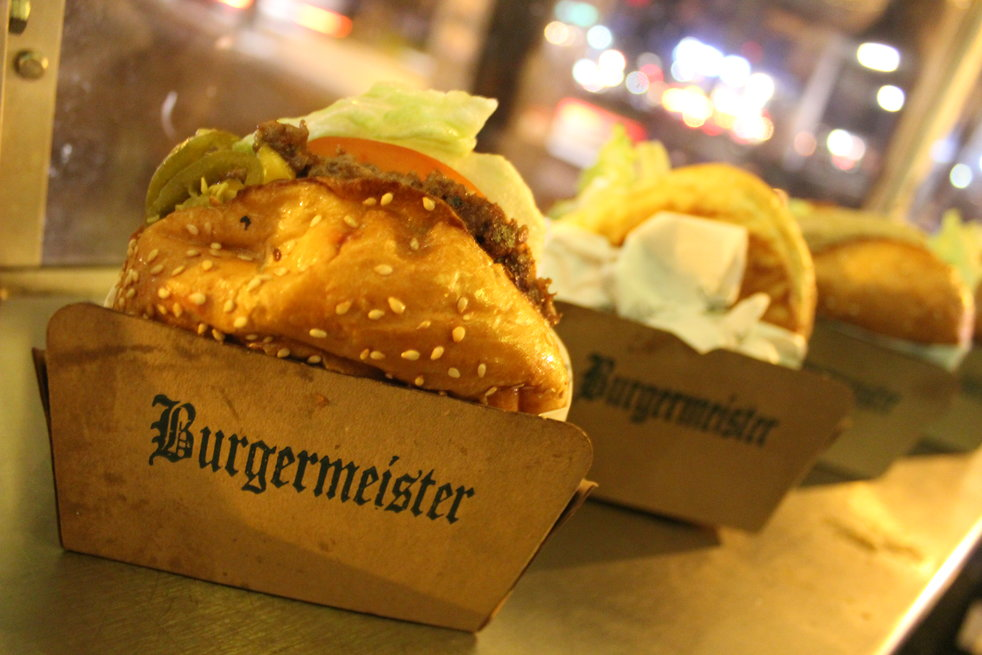 The burgers of Burgermeister