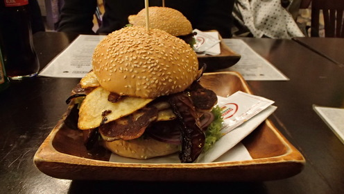 One of the largest burgers of Burger Ring
