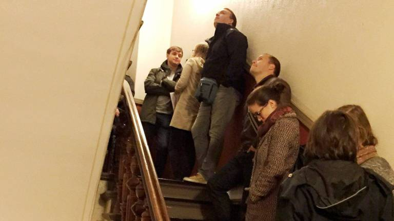 Line for Accommodation in Berlin