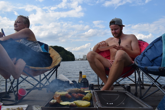 Beers and Barbeque on the Spree
