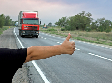 Hitchhiking to Berlin