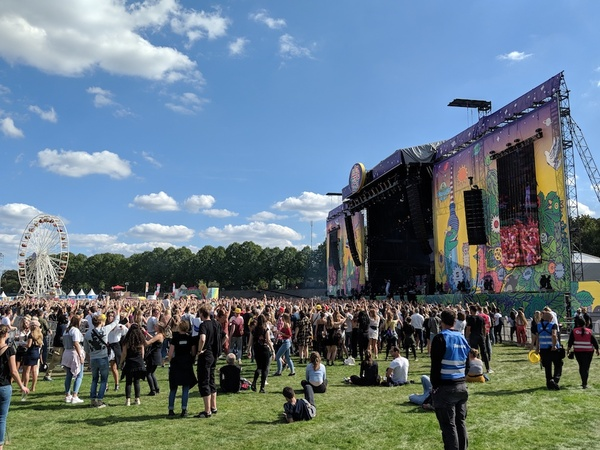 Lollapalooza Main Stage 2