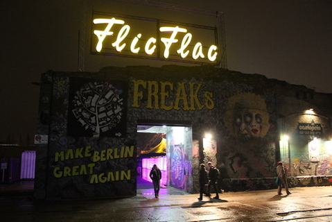The entrance of Freaks in Berlin