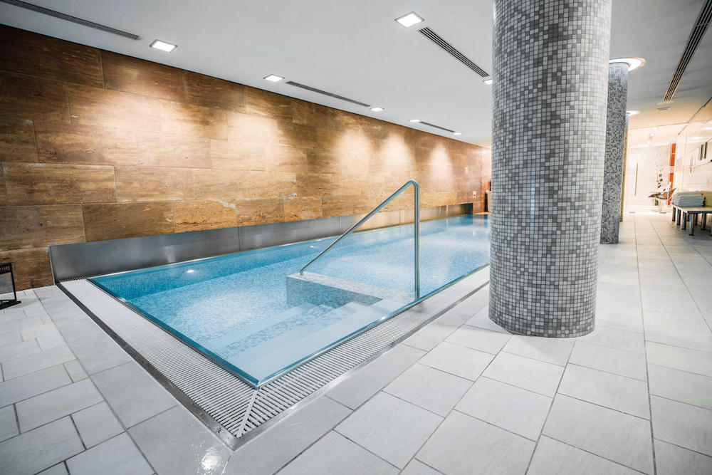 The Pool of Heaven Spa in Berlin