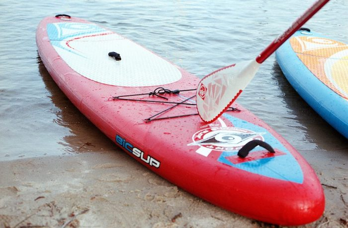 Stand Up Paddling on the Wannsee