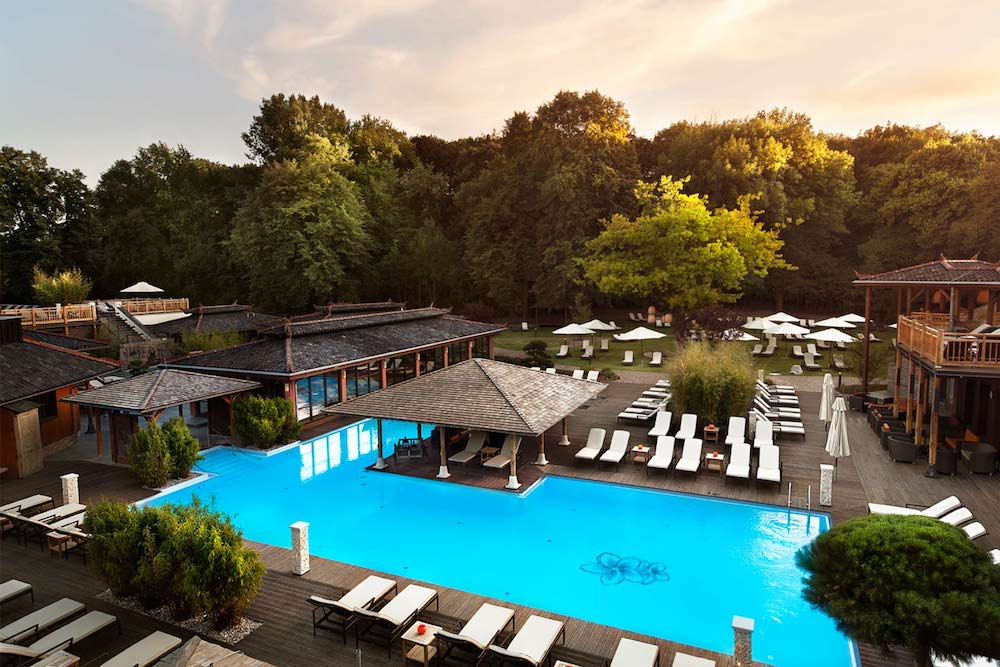 Vabali Wellness Berlin - A view from above
