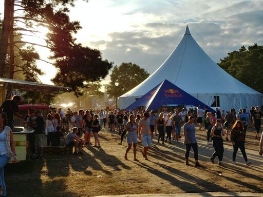 The festival terrain of Helene Beach (© Berlin-Enjoy.com)