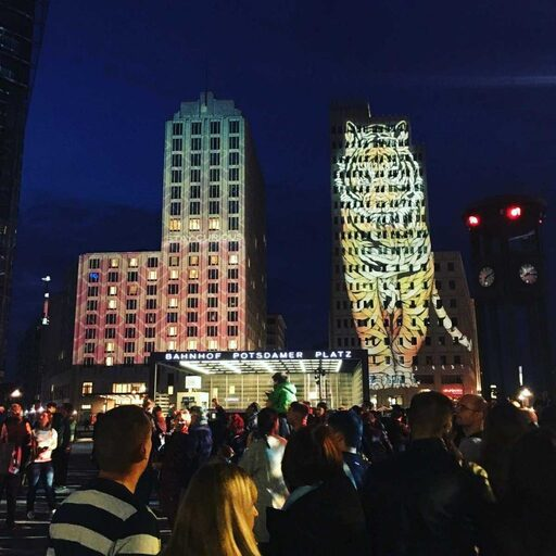 Potsdamer Platz Festival of Lights (© Berlin-Enjoy.com)